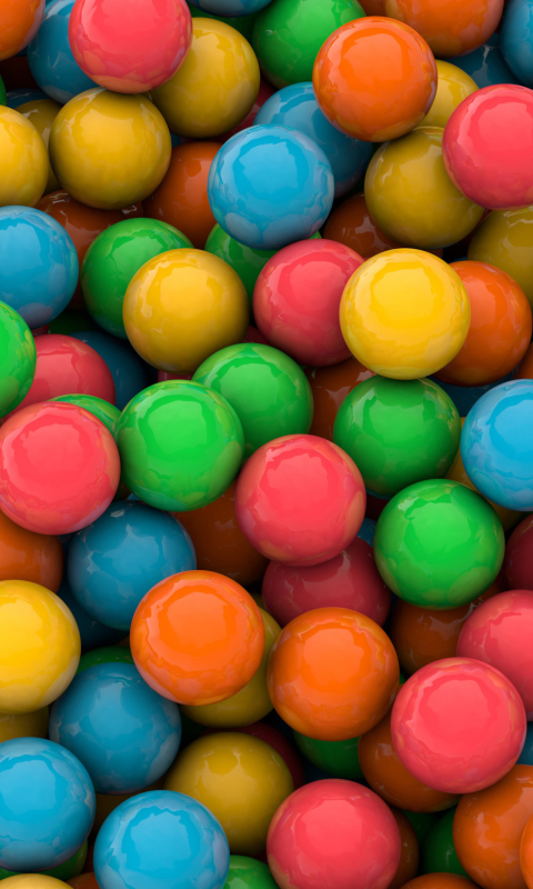 Candy Mobile Wallpapers for Nokia Lumia 520 at VividScreen
