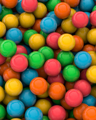 Colorful Candies sfondi gratuiti per iPhone 6 Plus