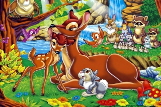 Disney Bambi Wallpaper for Android, iPhone and iPad