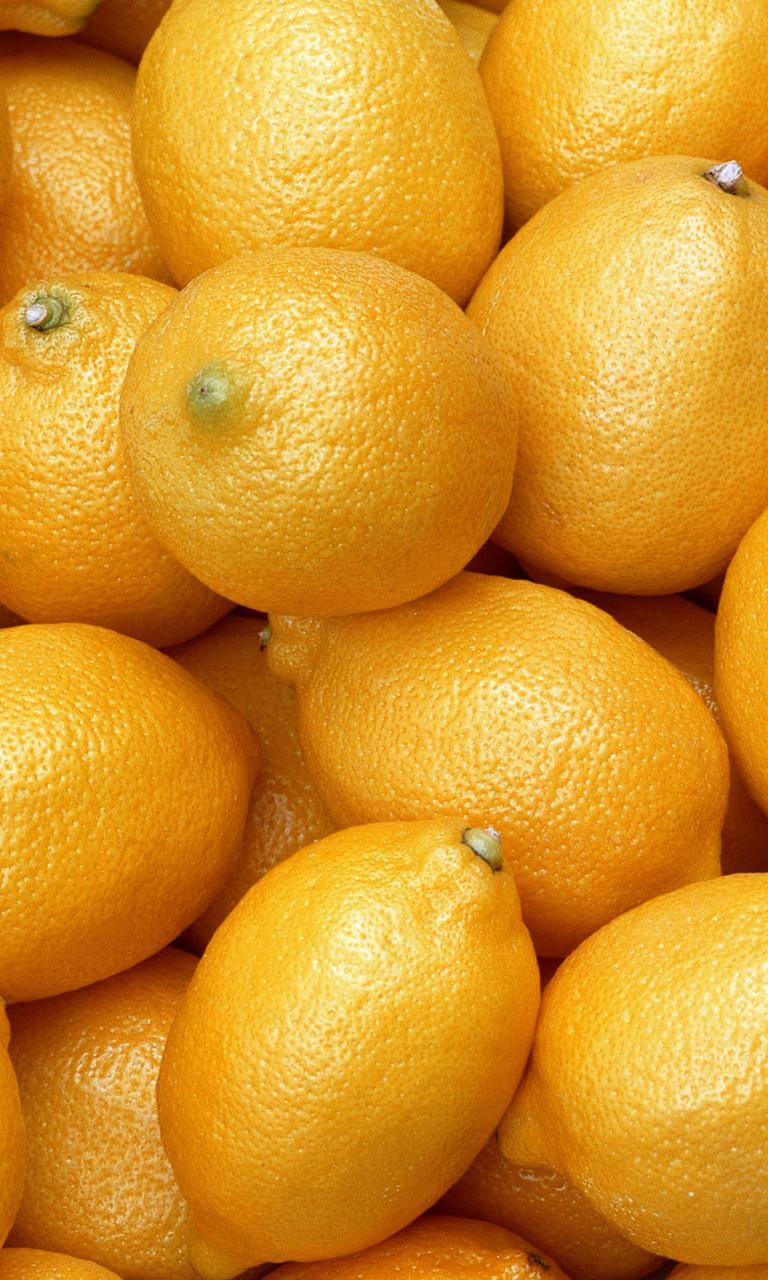 Красивая открытка, картинка с лимонами на заставку