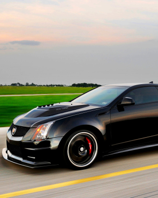Cadillac CTS-V Coupe Background for Nokia C1-01