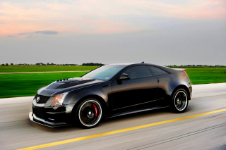 Cadillac CTS-V Coupe Wallpaper for Android, iPhone and iPad