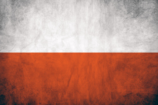 Poland Flag Wallpaper for 1366x768