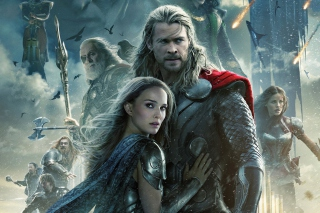 Thor 2 The Dark World 2013 Background for Android, iPhone and iPad