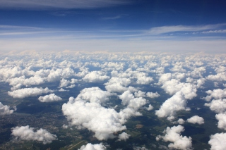 Free White Clouds Picture for Desktop 1280x720 HDTV