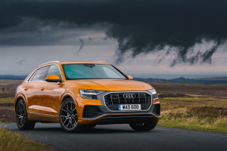Audi Q8, 2018 Background for Android, iPhone and iPad