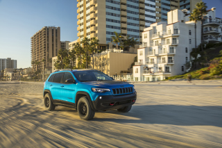 2019 Jeep Cherokee Trailhawk Suv Wallpaper for Android, iPhone and iPad