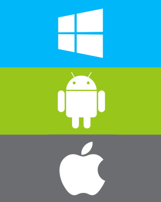 Windows, Apple, Android - What's Your Choice? - Obrázkek zdarma pro 750x1334
