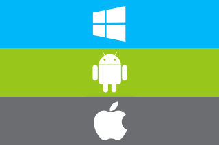 Windows, Apple, Android - What's Your Choice? Wallpaper for Android, iPhone and iPad