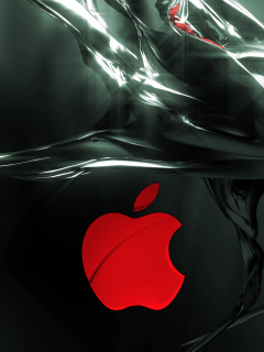 Screenshot №1 pro téma Apple Emblem 240x320