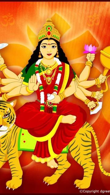 Maa Durga - Puja Avratri for Nokia N8