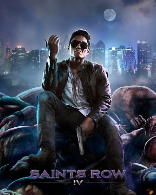 Saints Row 4 Wallpaper for Nokia C1-01
