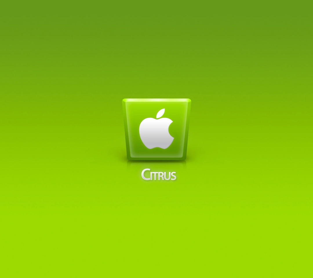 Screenshot №1 pro téma Apple Citrus 1080x960