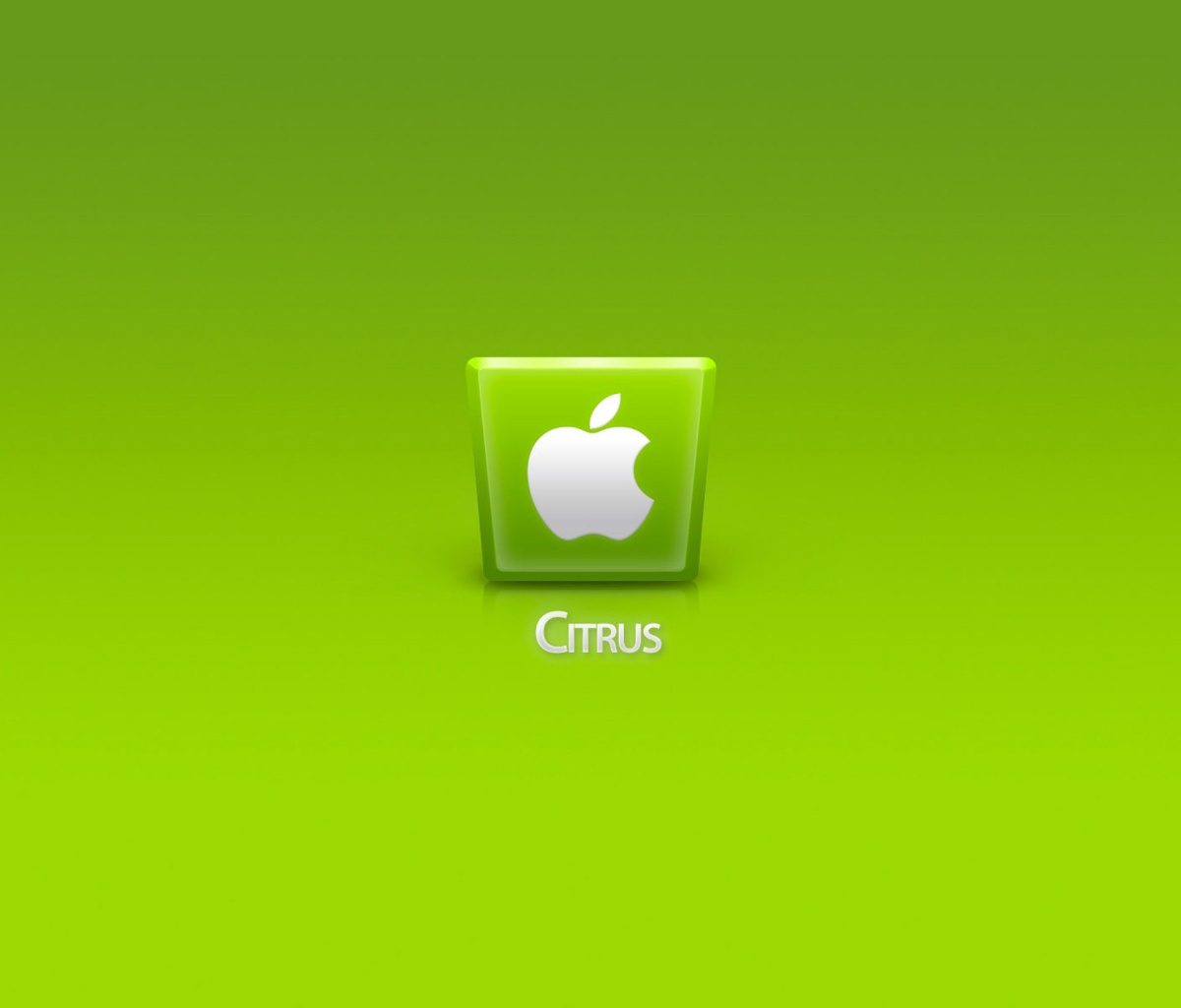 Screenshot №1 pro téma Apple Citrus 1200x1024