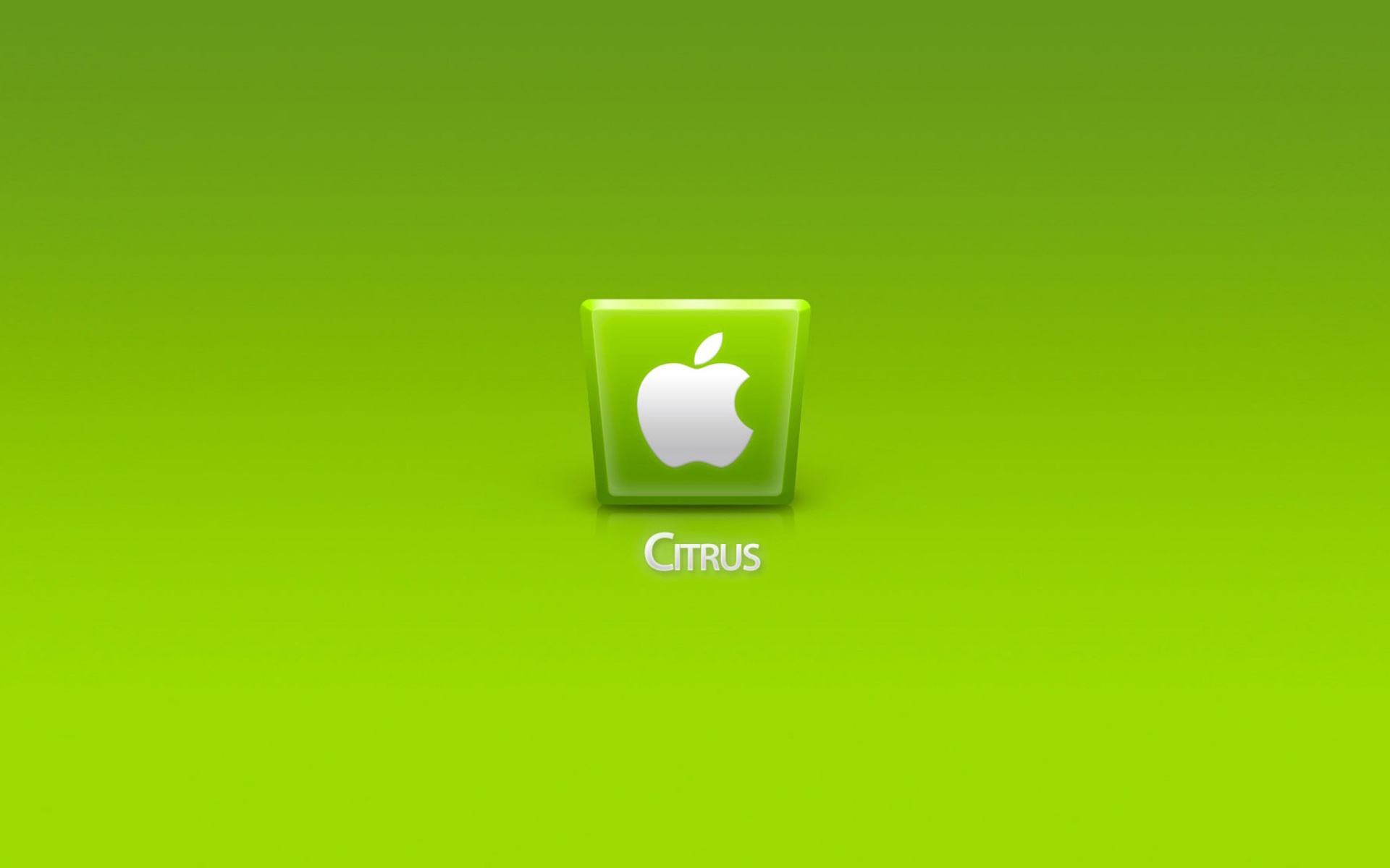Screenshot №1 pro téma Apple Citrus 1920x1200