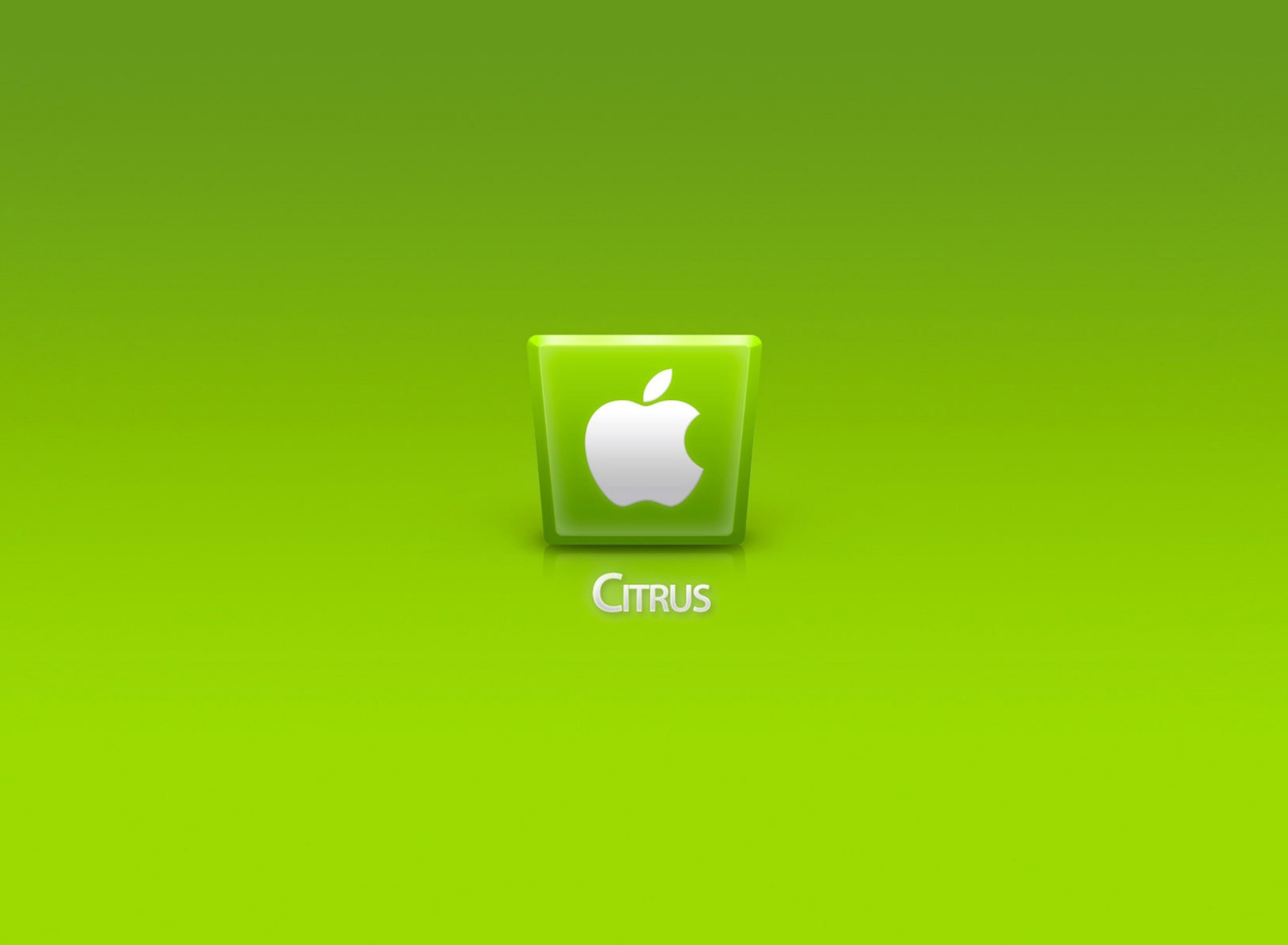 Screenshot №1 pro téma Apple Citrus 1920x1408