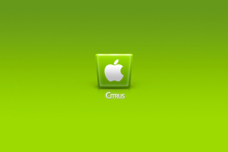 Das Apple Citrus Wallpaper