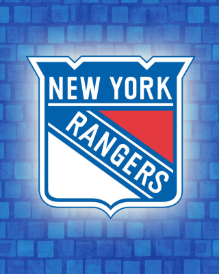 New York Rangers NHL papel de parede para celular para iPhone 4