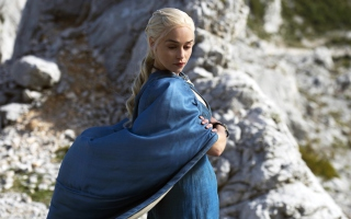 Kostenloses Daenerys Targaryen In Game of Thrones Wallpaper für Android, iPhone und iPad