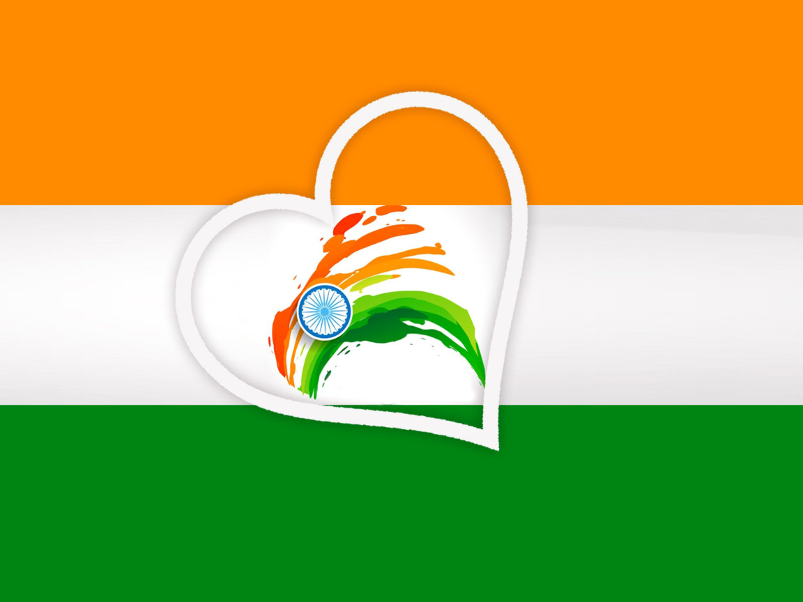 Screenshot №1 pro téma Happy Independence Day of India Flag 1152x864