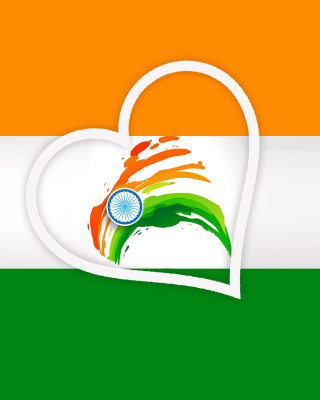 Happy Independence Day of India Flag Background for Nokia C1-01