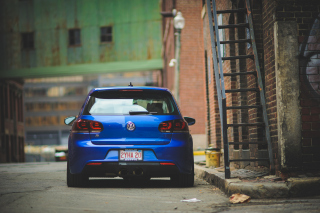 Volkswagen Golf R Background for Android, iPhone and iPad