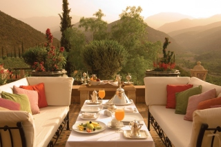 Free Summer Lunch on Terrace Picture for Android, iPhone and iPad