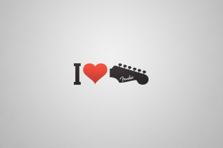 Картинка I Love My Guitar на андроид