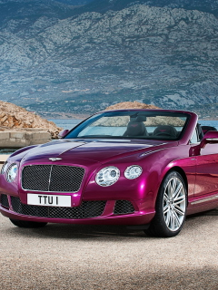 Screenshot №1 pro téma Bentley Continental GT Speed Convertible 240x320