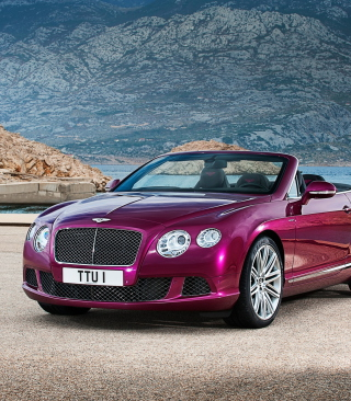 Bentley Continental GT Speed Convertible Picture for iPhone 6 Plus