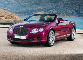 Free Bentley Continental GT Speed Convertible Picture for Android, iPhone and iPad