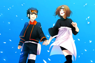 Rin Nohara, Obito Uchiha Picture for Android, iPhone and iPad