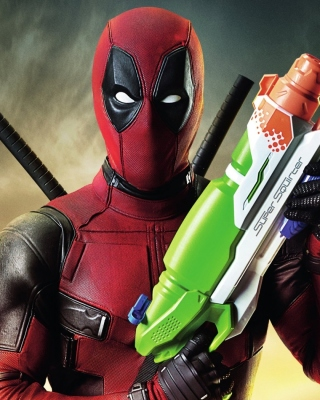 Deadpool Wallpaper for Nokia Asha 305