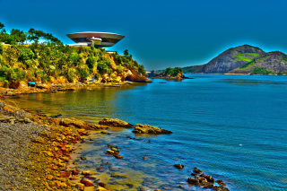 Museum of Contemporary Art in Rio Wallpaper for Android, iPhone and iPad