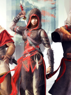 Screenshot №1 pro téma Assassins Creed Chronicles India 240x320