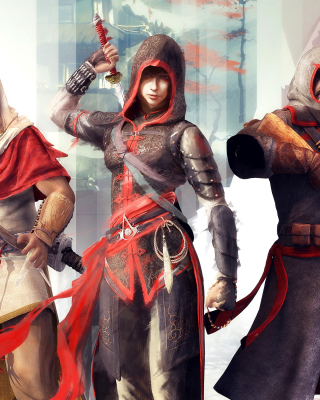Assassins Creed Chronicles India - Obrázkek zdarma pro 128x160