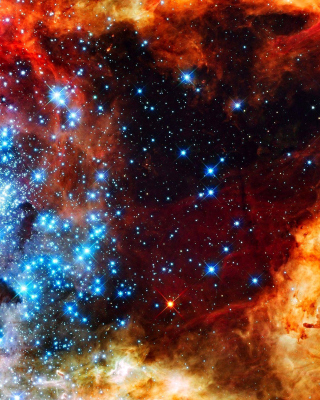 Starry Space Wallpaper for Nokia C1-01