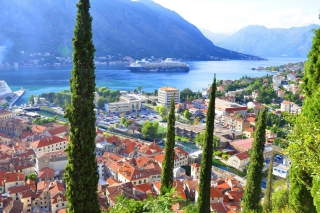 Kotor, Montenegro Background for Android, iPhone and iPad