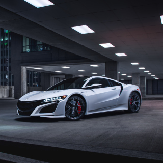 Acura NSX in Garage Background for iPad mini