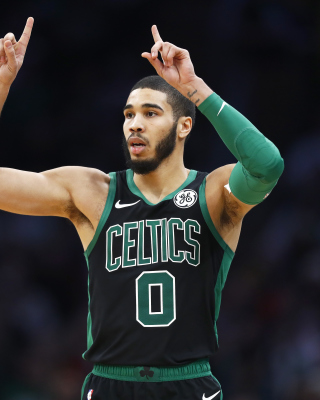 Free Jayson Tatum in Boston Celtics Picture for Nokia C2-02