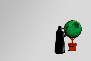 Darth Vader Funny Illustration - Fondos de pantalla gratis