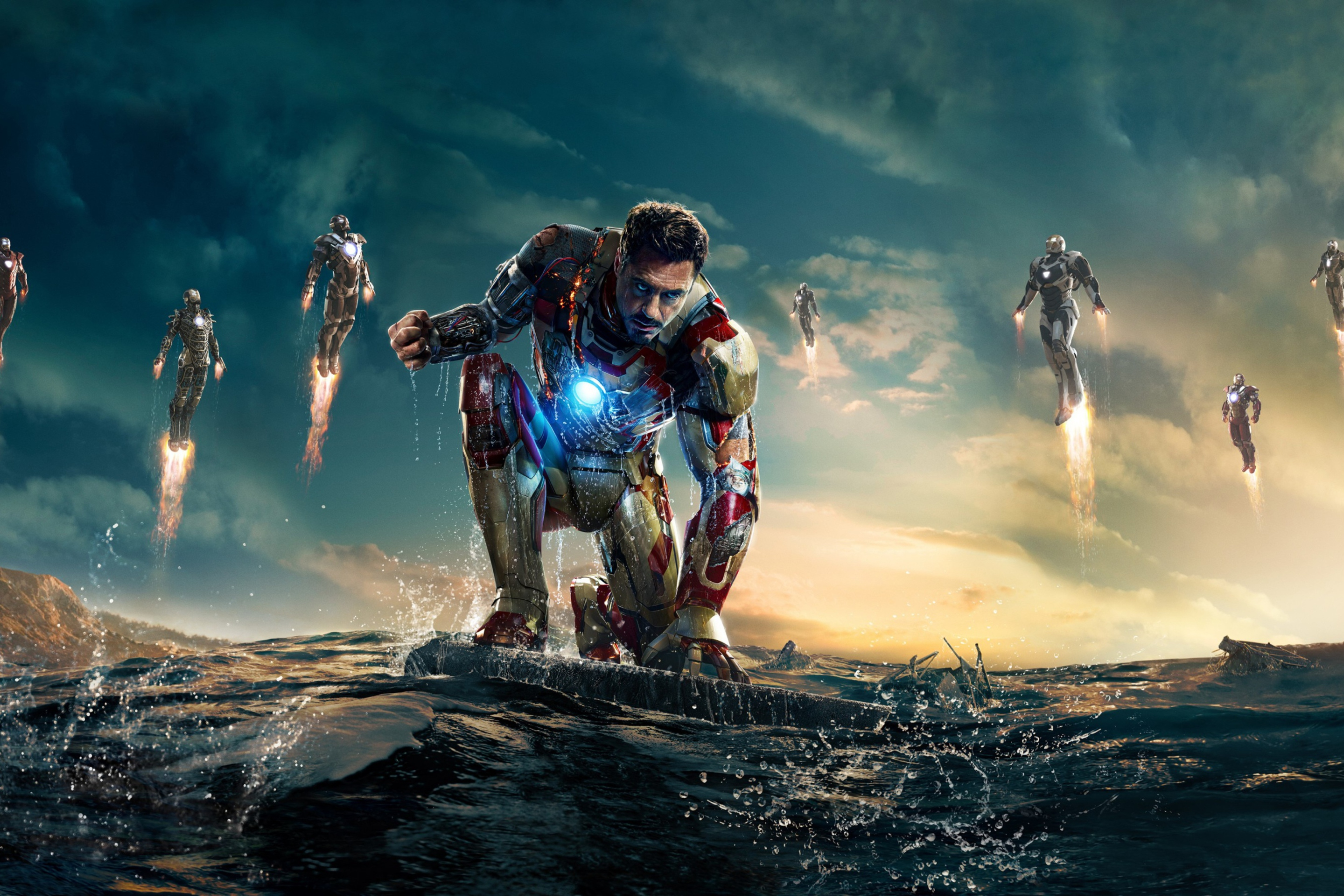 Screenshot №1 pro téma Robert Downey Jr. As Iron Man 2880x1920
