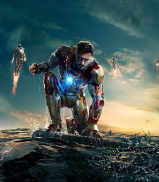Robert Downey Jr. As Iron Man Wallpaper for Nokia Asha 310