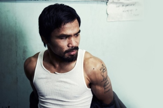 Manny Pacquiao Background for Samsung I9080 Galaxy Grand