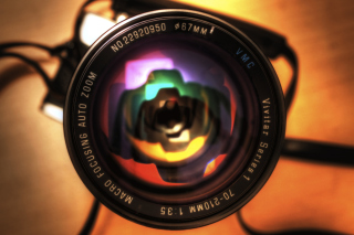 Camera Lens Wallpaper for Android, iPhone and iPad