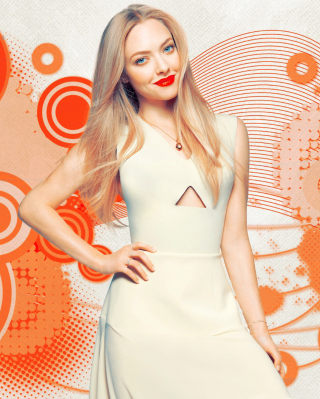 Amanda Seyfried Background for 176x220