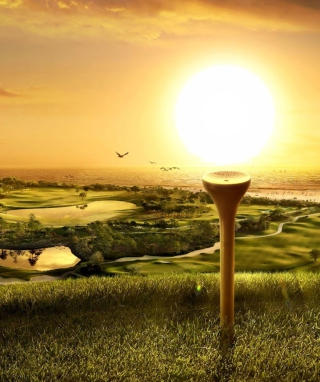 Golfs Obsession Background for Nokia C5-06