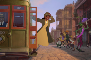 The Princess and The Frog Background for Android, iPhone and iPad