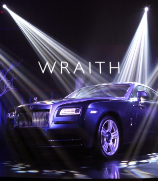 Rolls-Royce Wraith Wallpaper for 128x160