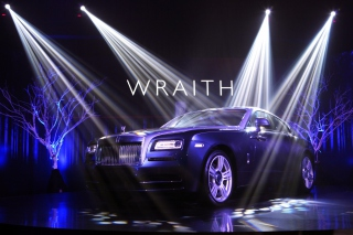 Free Rolls-Royce Wraith Picture for 320x240